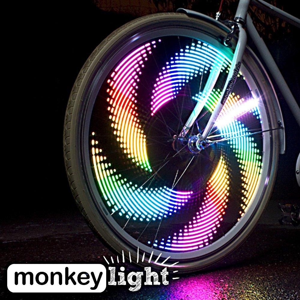 Monkey Light - Die vielleicht bunteste Beleuchtung für\'s Fahrrad ...
